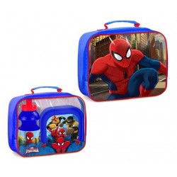 Spiderman Bag with lunch box and water bottle