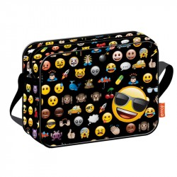 Emoji Icon Shoulder bag School Bag 38 x 29 x 9 cm