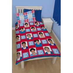 One Direction Bed linen Duvet Cover 140x200 + 50 x 75 cm