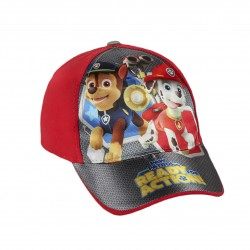 Paw Patrol Cap Grey/Red