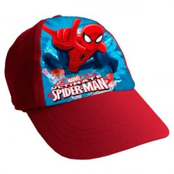 Marvel Spiderman Cap Blue/Red One Size