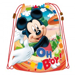 Disney Mickey Mouse Sports Bag Gymbag 44 x 33 cm