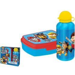 Paw Patrol lunch box and aluminium bottle BLUE