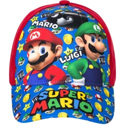 Super Mario og Luigi Cap Red