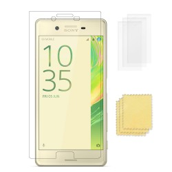 3-pack Sony Xperia X Performance Screen Protector Transparent
