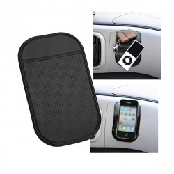 Anti-Slip Mat Black Silicone For your Phone etc.