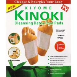 Kinoki Detox Foot patches 10-pieces.
