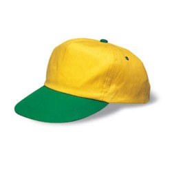 Kids Cap Yellow/Green One Size