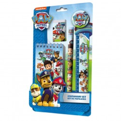 Paw Patrol, School Set, Stationary Set, 5-pack