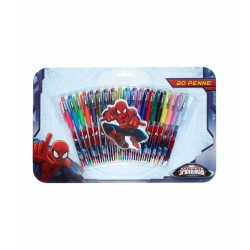 20-Pack Pennor Spiderman Spindelmannen Pennset PennSet 20-pcs Spider-Man 199,00 kr product_reduction_percent