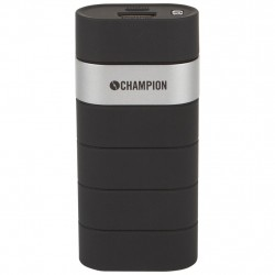 Champion Powerbank 5000 mAh 2.1A - Black/Silver