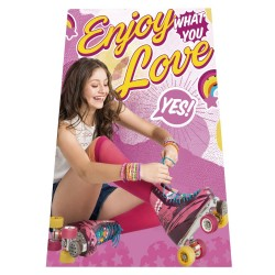 Soy Luna Enjoy Love Fleeceblanket 100x150cm