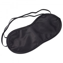 Sleeping Mask, Eye Mask, Blindfold, Sleep, Relax, BLACK
