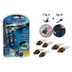 Fix a Zipper, Zipper, Repair, Sewing, Zipper, 6-Pack