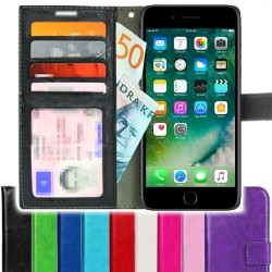 TOPPEN iPhone 8 Plus/7 Plus Wallet Case Cover ID pocket