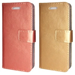 TOPPEN Plånboksfodral iPhone SE/5/5S Med ID/Fotoficka GULD TOPPEN SWEDEN 249,00 kr product_reduction_percent