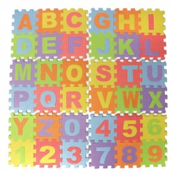 Puzzle Mat, Play, Kids, Puzzle, Education, Learning, 36-Pack