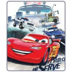 Cars Lightning McQueen Fleeceblanket Huopa Fleece 120 x 140cm