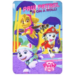 Paw Patrol Is On A Roll Fleeceblanket Huopa Fleece 100 x 150cm