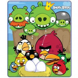 Angry Birds Fleeceblanket Huopa Fleece 120 x 140cm