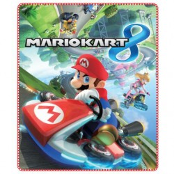 Super Mario Fleeceblanket Huopa Fleece 120 x 140cm Mario Kart 8