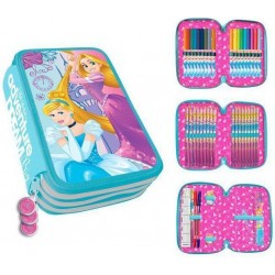 Disney Princess 43-delt 3D Pen Shrine Triple Schooled Pen Set