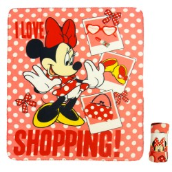 Minnie Mouse Fleeceblanket 120 x 140cm