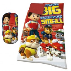 Paw Patrol Sleeping bag 140x70 cm Red