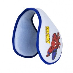Spiderman Earwarmer Blue/Grey