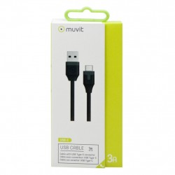 Muvit Ladd-/Sync-kabel USB-C - USB MUUSC0147, Muvit USB-C Kabel Muvit 149,00 kr product_reduction_percent