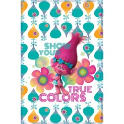 Trolls Fleeceblanket 100 x 140cm White