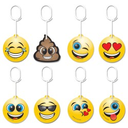 8 pcs Air Freshener Car Emoticon Bundle Pack