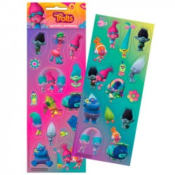 Trolls Fun Stickers Set