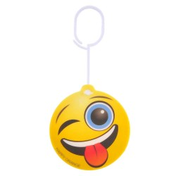 Car Air Freshener Emoticon HAPPY ORANGE