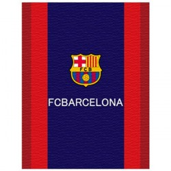 FC Barcelona Fleeceblanket Plaid Fleece 130 x 170 cm