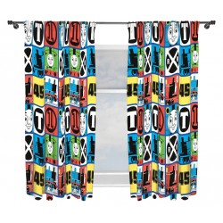 Thomas and Friends Verhot Ready Made Curtains 168cm x 183cm