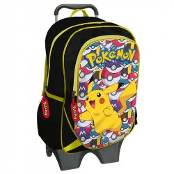 Pokemon Trolley Travel Bag Detachable Backpack 43x18x32 cm
