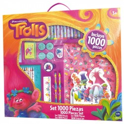 Mega Artistic Set 1000 Pieces Of The TROLLS