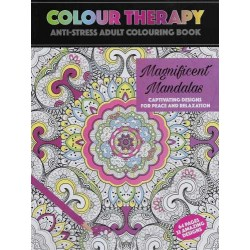 Colour Therapy Anti-Stress Coloring Book, Mandala, Relax