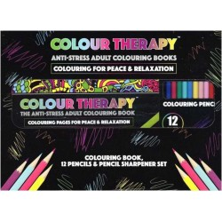 Colour Therapy Anti-Stress Målarset 96s. + 12-pack Pennor. 384034 CT MålarSet PMS 179,00 kr product_reduction_percent