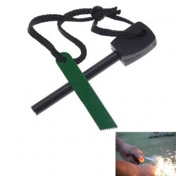 Firestarter for Outdoor & Camping, Hunting, Military Green