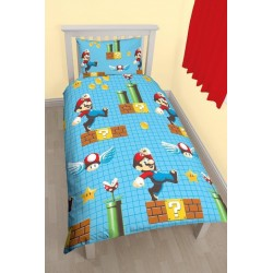 Super Mario Bed linen 135x200 + 48x74cm