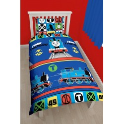 Thomas and Friends Bed linen Pussilakanasetti 135x200 + 48x74cm