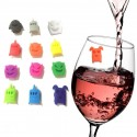Glass Markers, Party, Table tags, Monster, 12-Pcs.