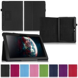 Flip & Stand Smart Cover Lenovo TAB 2 A10-30 / TAB 2 A10-70 SVART GL 299,00 kr product_reduction_percent