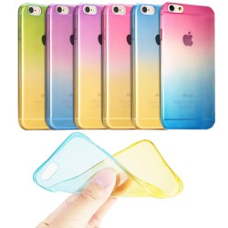 Ultra-tynd Soft Shell iPhone 6 / 6S Rainbow Transparent