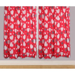 One Direction 1D Verhot Ready Made Curtains 168cm x 137cm