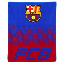 FC Barcelona Fade Fleeceblanket Plaid Fleece 125 x 150 cm