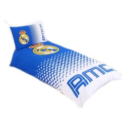 Real Madrid Fade Duvet Cover Bed 135x200 + 50x75cm