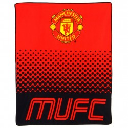 Manchester United Fade Fleeceblanket Huopa Fleece 125 x 150 cm